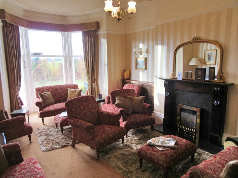 Reception Room at The HIghfield, Keswick in Cumbria