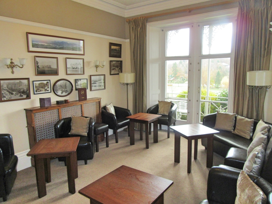 Reception Room at The HIghfield, Keswick in Cumbria