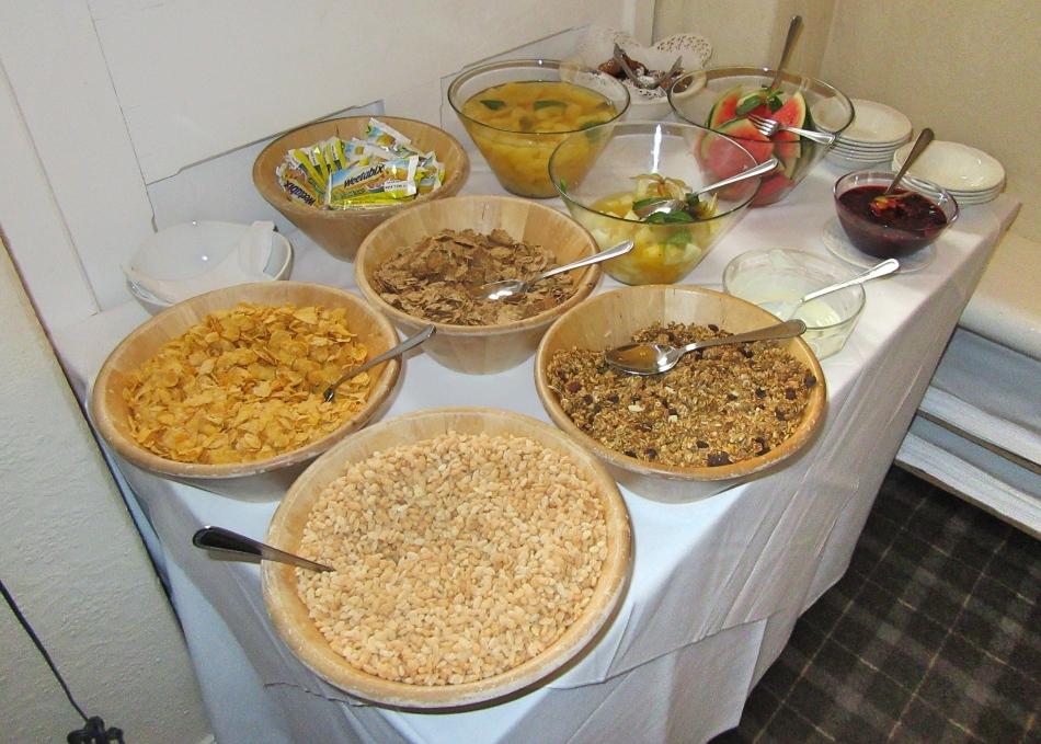 Breakfast Buffet at The Highfield, Keswick in Cumbria