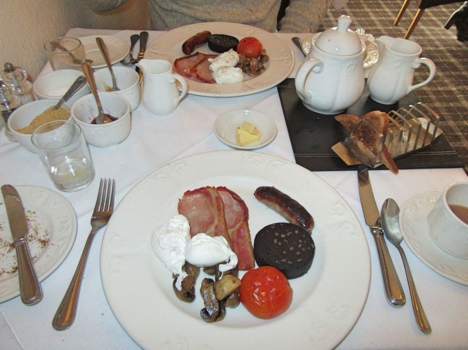 Full English at The Highfield, Keswick in Cumbria