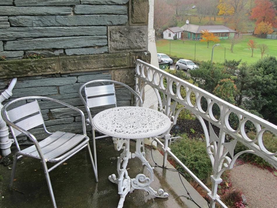 Balcony at The Highfield, Keswick in Cumbria
