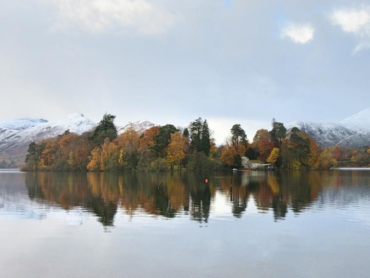 Derwent Waters, Keswick in Cumbria
