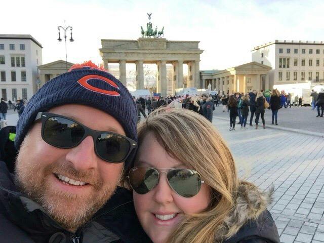New Year in Berlin, Germany
