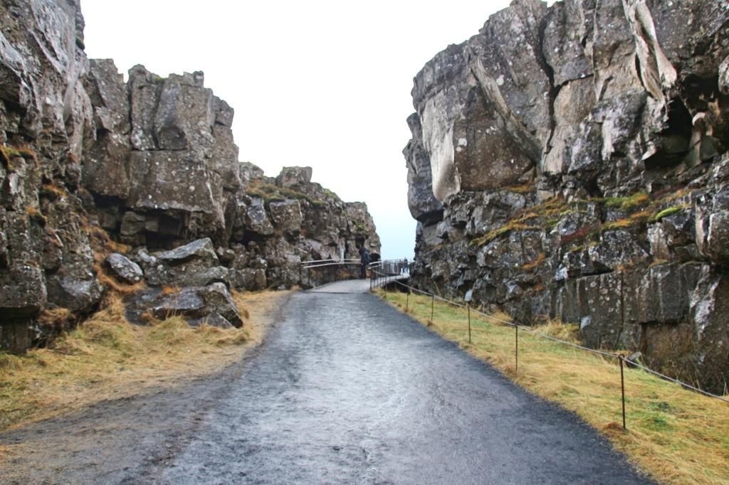 Rift Valley Þingvellir, Iceland
