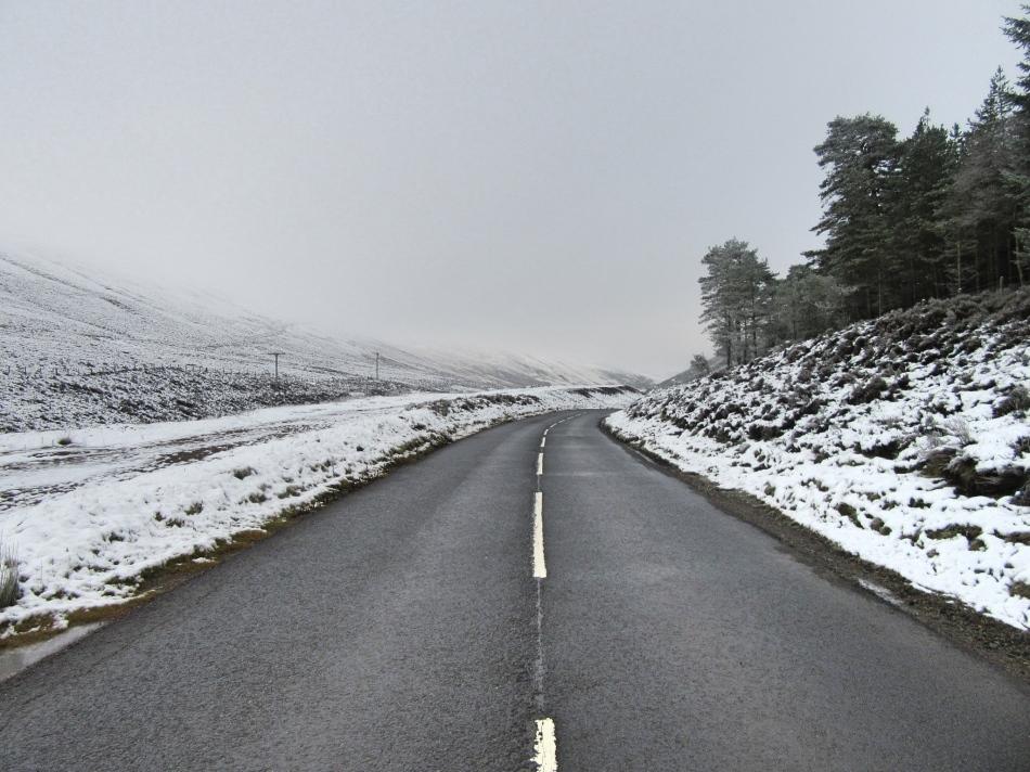 Snowy Scotland