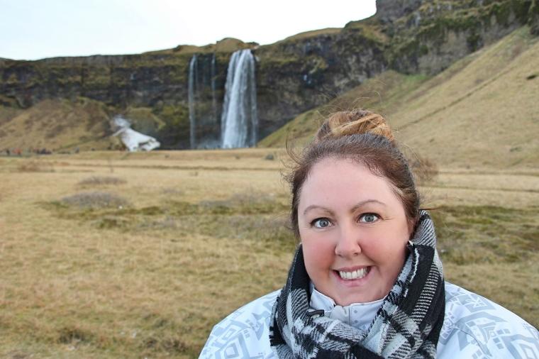 Me at Seljalandsfoss, Iceland