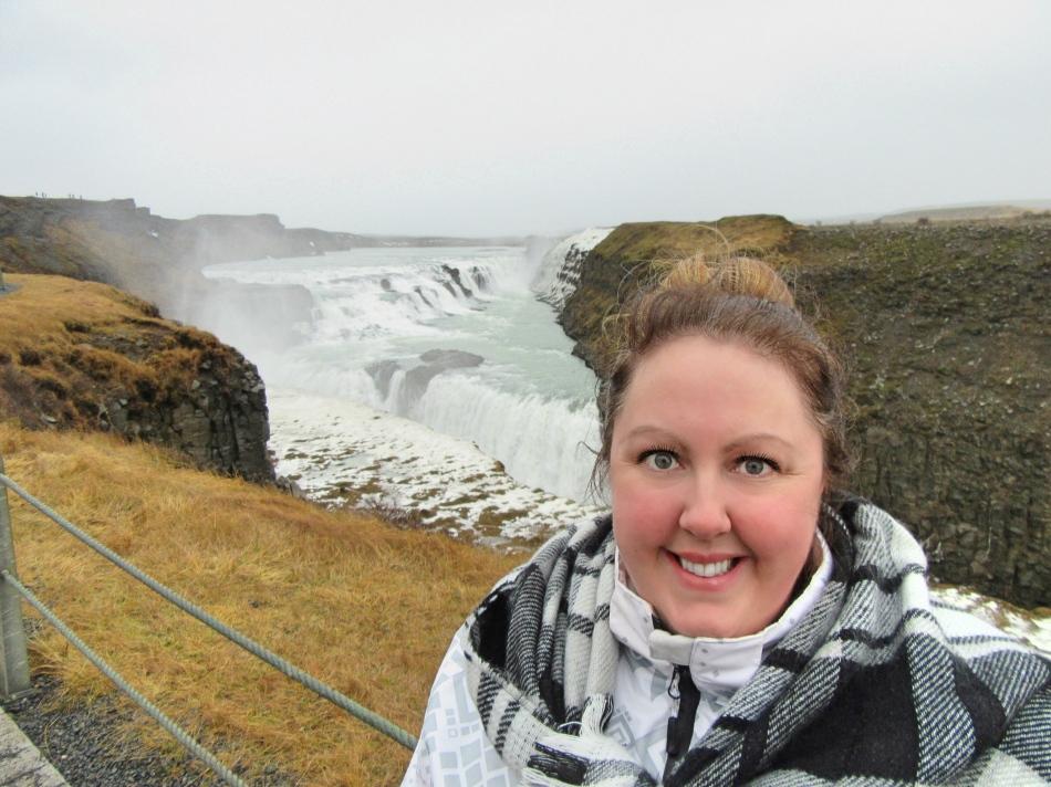 Me at Gullfoss, Iceland