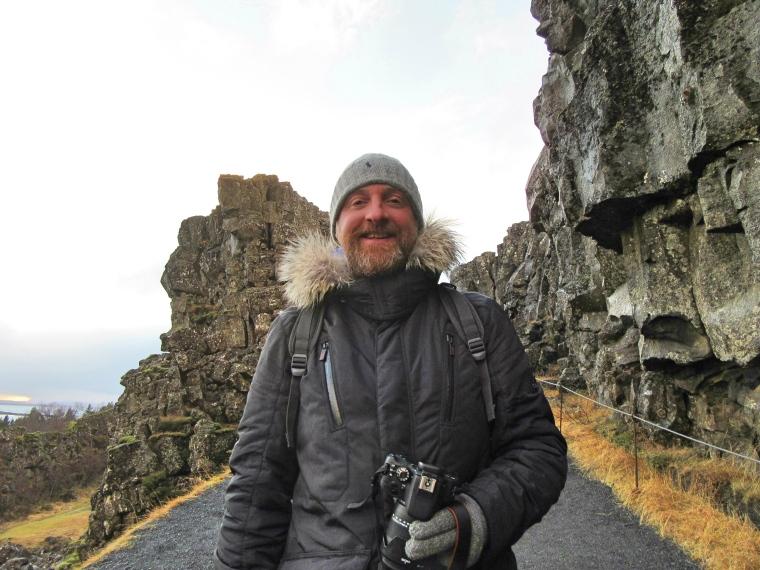 Mr ESLT in Rift Valley, Iceland