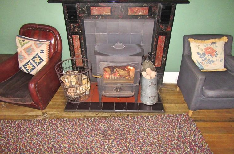 Lounge at Trigony House Hotel, Dumfries, Scotland
