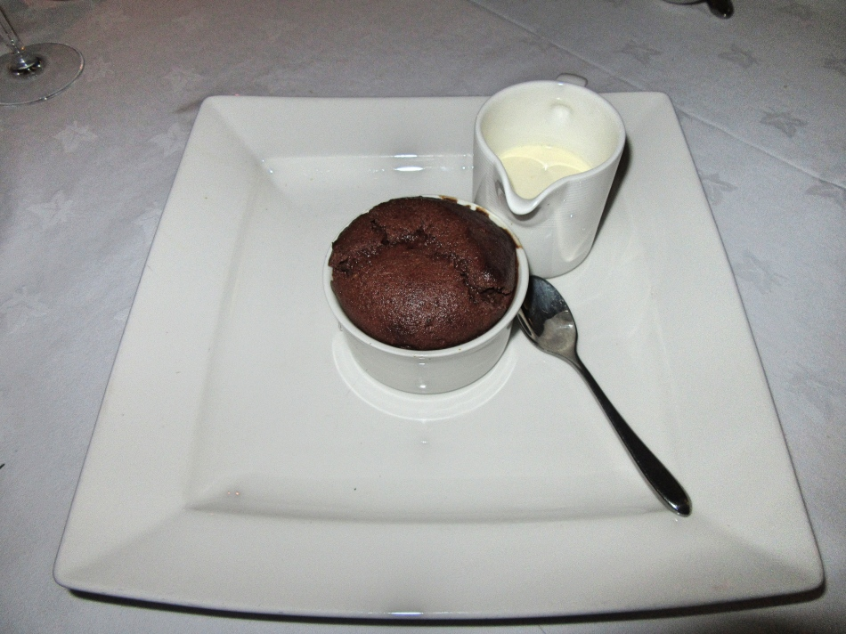 Dessert Trigony House Hotel, Dumfries, Scotland
