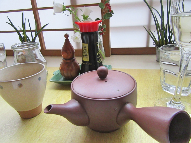 Green Tea at Harajuku Kitchen Japanese Bistro Edinburgh Scotland