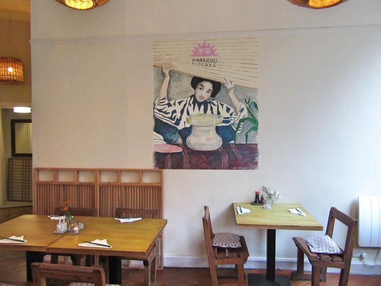 Harajuku Kitchen Japanese Bistro Edinburgh Scotland