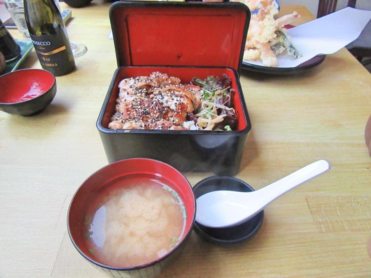 Chicken at Harajuku Kitchen Japanese Bistro Edinburgh Scotland
