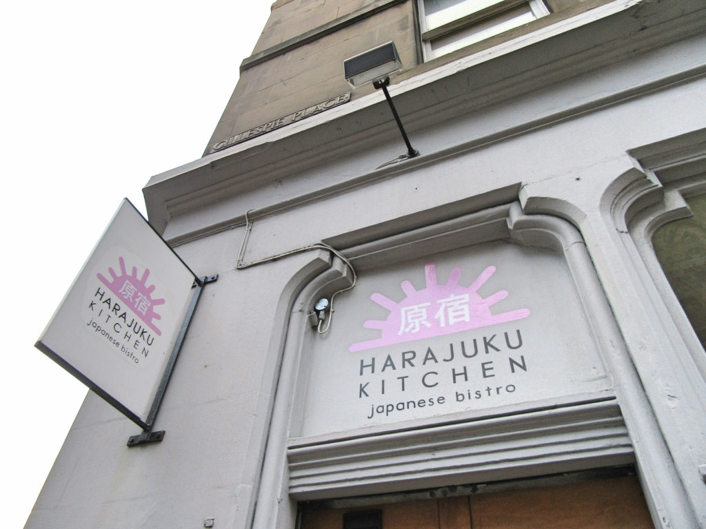 Harajuku Kitchen Japanese Bistro Edinburgh Scotland