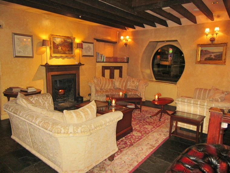 The Horseshoe Inn, Peebles lounge