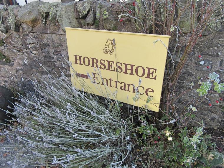 The Horseshoe Inn, Peebles entrance