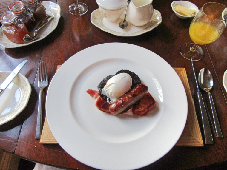 The Horseshoe Inn, Peebles Breakfast
