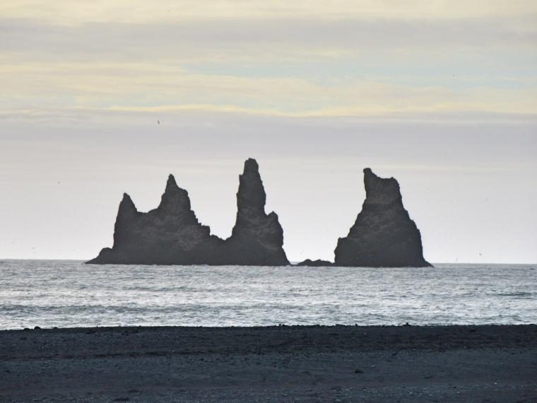 Rock formation Vik Iceland