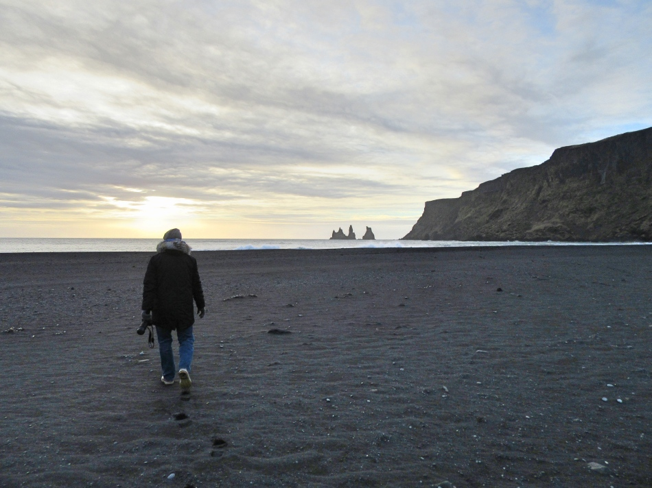 Vik Beach in Iceland