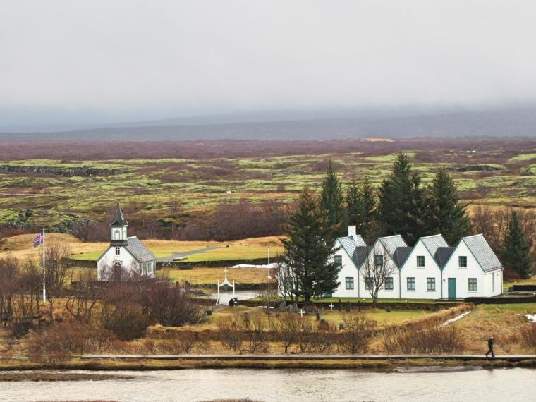 Thingvellir Church, Iceland