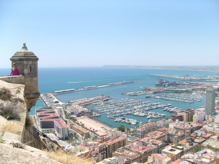 View from castle, Alicante