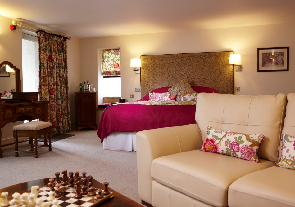 The Sycamore Suite at The Angel Inn, Hetton, North Yorkshire, England