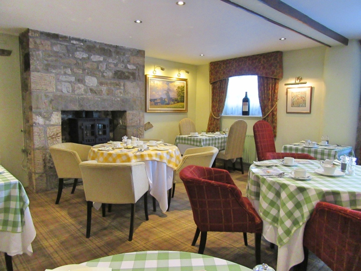 Breakfast at The Angel Inn, Hetton, North Yorkshire, England