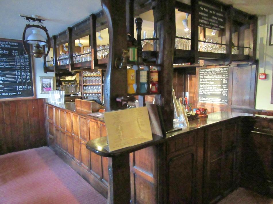 Bar Area at The Angel Inn, Hetton, North Yorkshire, England