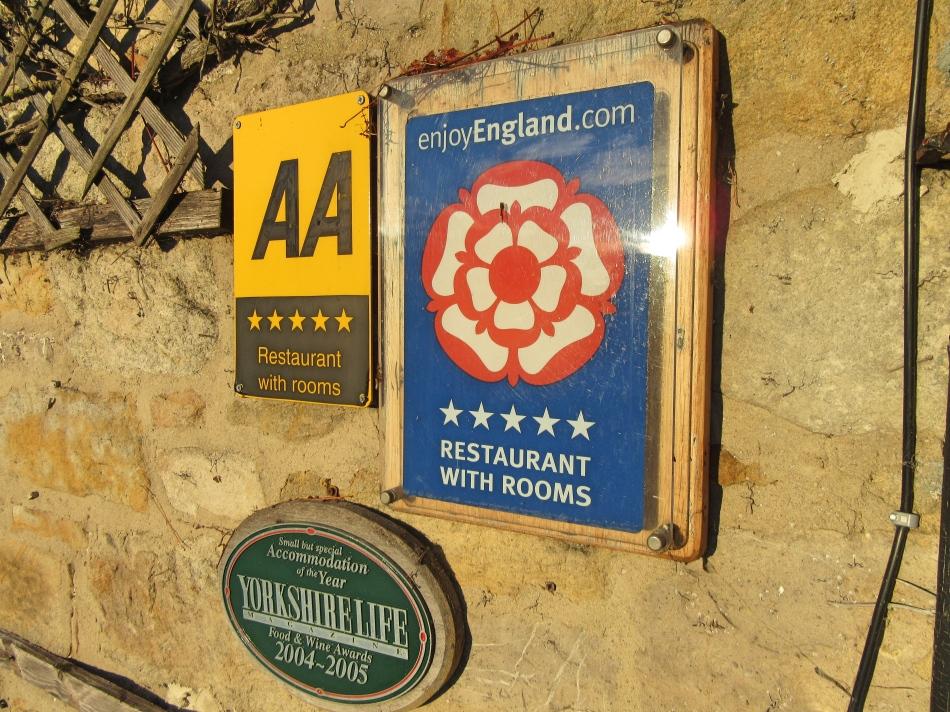 The Angel Inn, Hetton, North Yorkshire, England