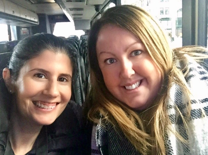 Anisa and I on the Sex And The City Tour, New York, America