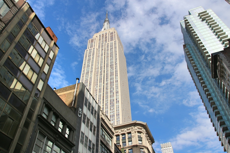 The Empire State Building, New York, America
