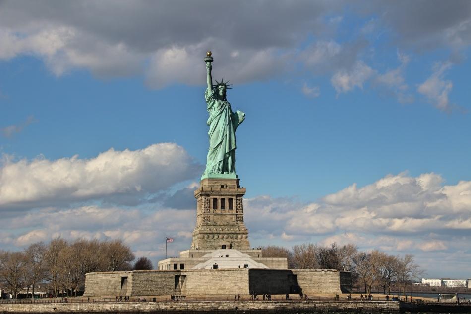 Statue of Liberty, Liberty Island, New York, America
