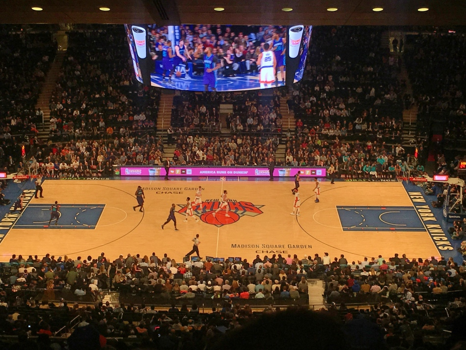 The Knicks, New York, America
