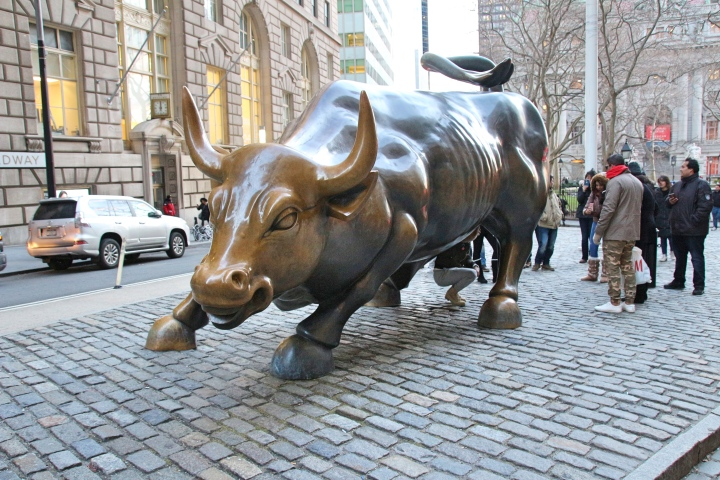 The Charging Bull, New York, America
