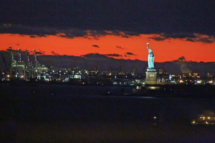 View from The Brooklyn Bridge, New York, America
