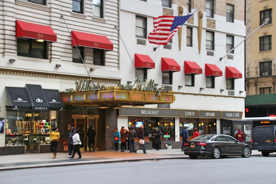 The Wellington, New York, America
