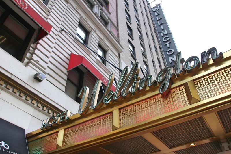 The Wellington Hotel, New York, America