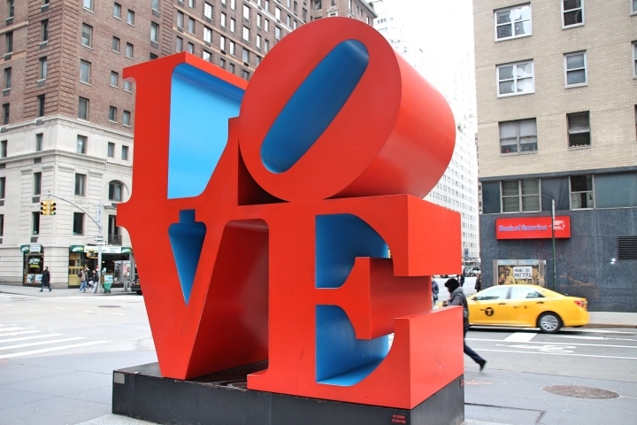 The Love Sculpture, New York, America