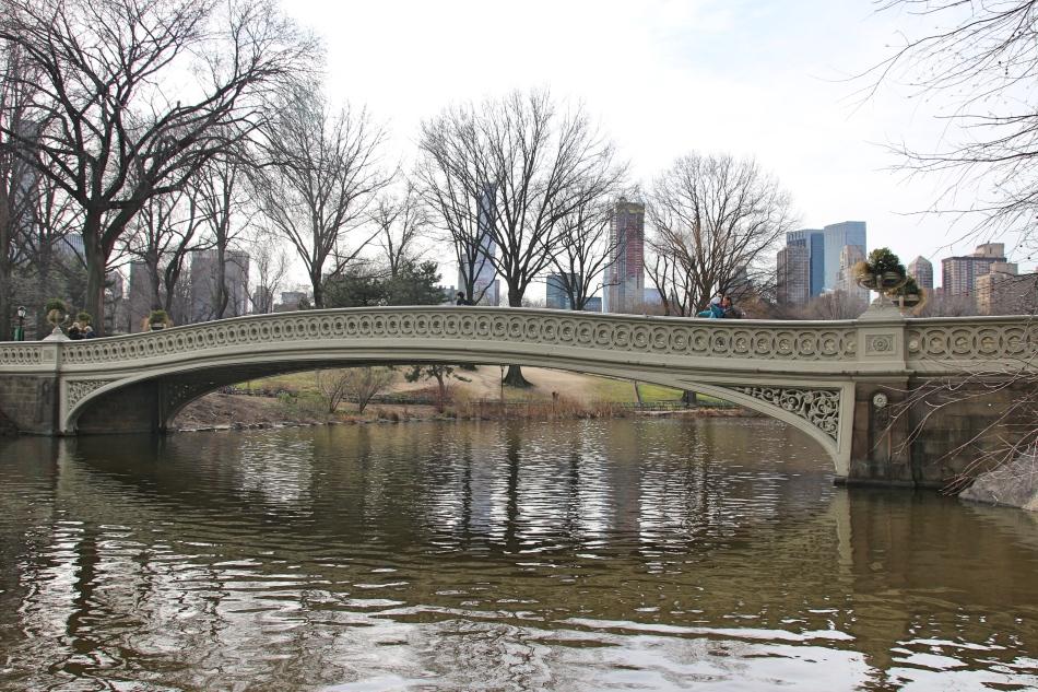 The Highlander Bridge, Central Park, New York, America
