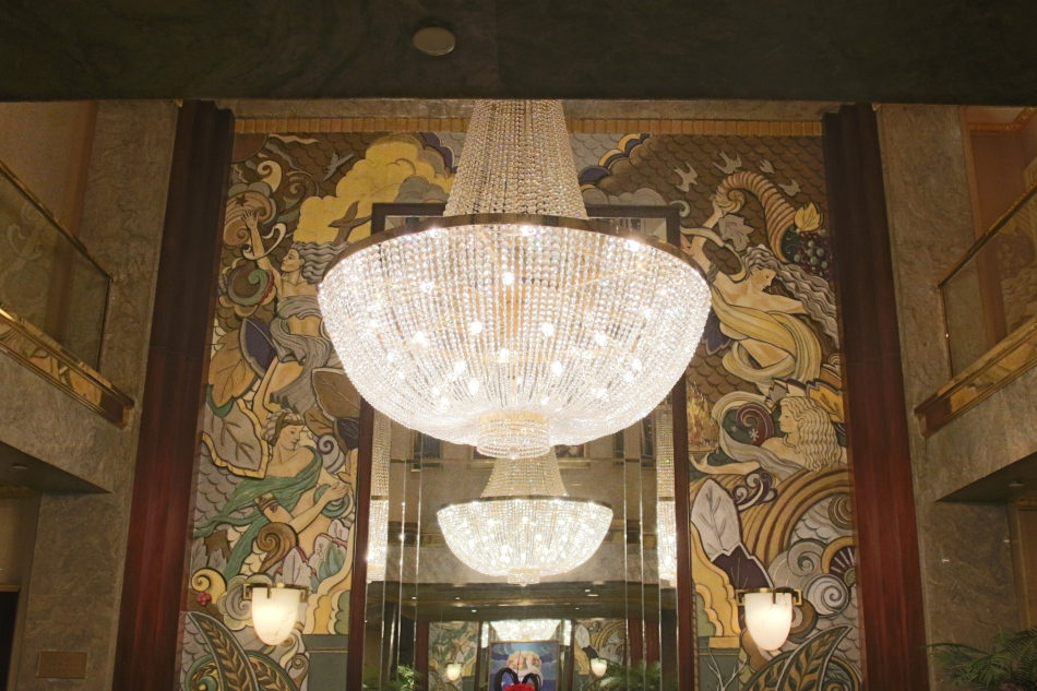 Lobby at The Wellington, New York, America