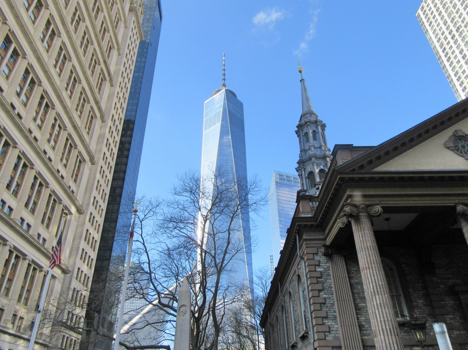 The Freedom Tower from Big Bus Tours, New York