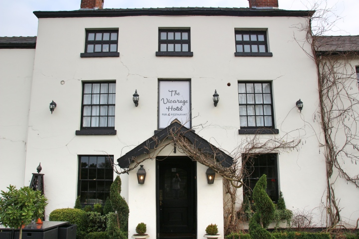 The Vicarage, Carnage, Cheshire, England