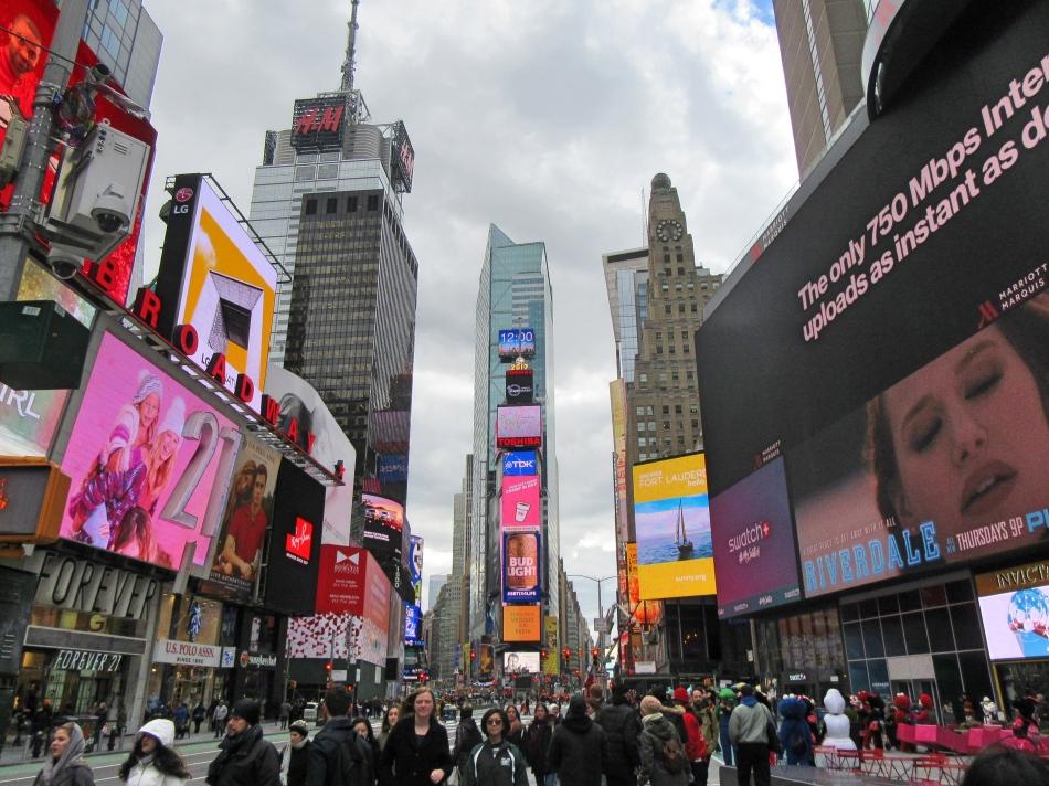 Times Square, New York, America