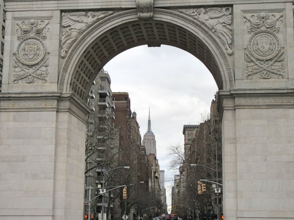 Washington Square Arch, New York, America