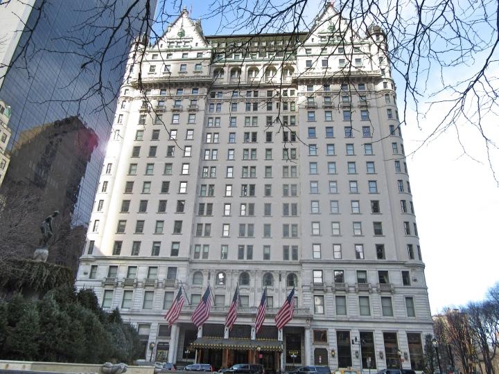 The Plaza Hotel, New York, America