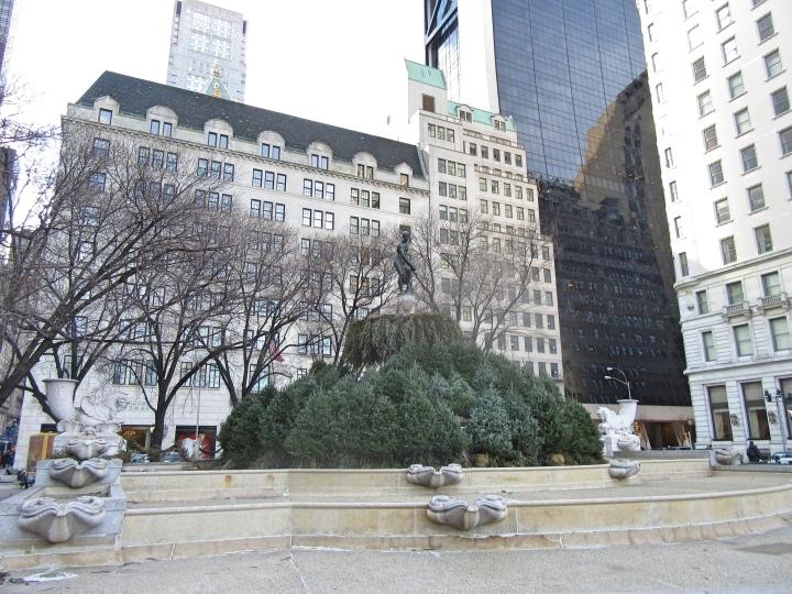 Pulitzer Fountain, New York, America