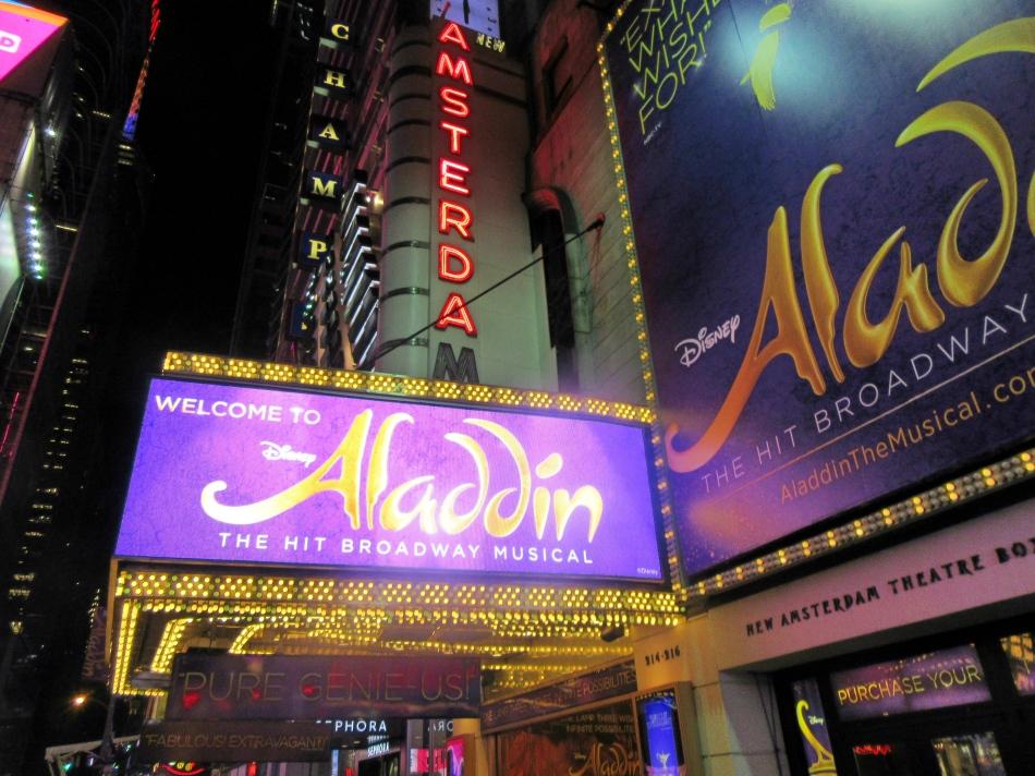Aladdin on Broadway, New York, America