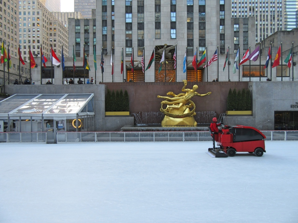 Rockefeller Ice Rink, New York