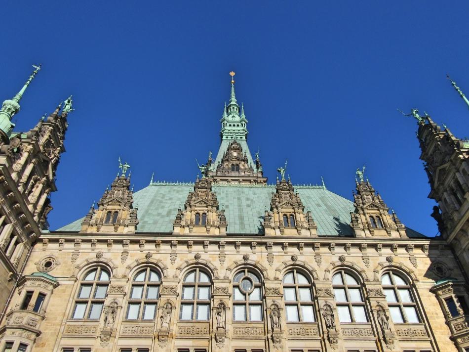Rathaus Hamburg, Germany