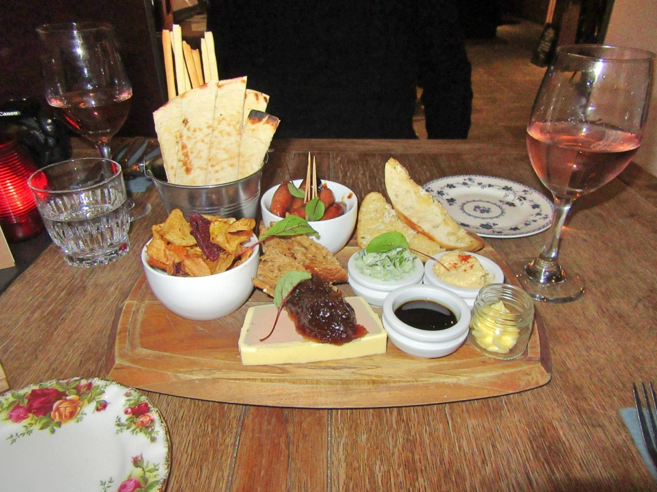 Starter at The Vicarage, Cranage, Cheshire, England